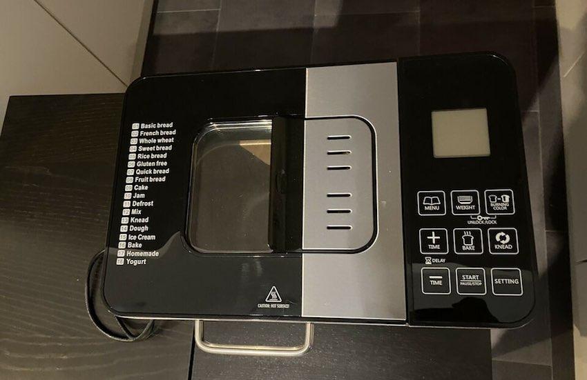 Der Gastroback 42823 Brotbackautomat bereits für den ersten Einsatz.