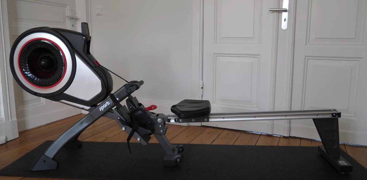 Das SportPlus Rudergerät mit Luftwiderstand SP-MR-010.