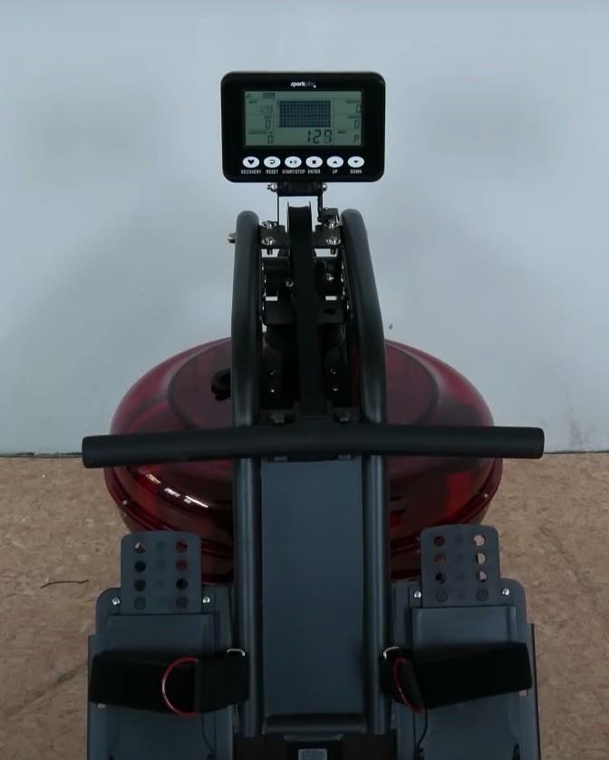 Das SportPlus SP-MR-011Wasser-Rudergerät aus Nutzersicht.