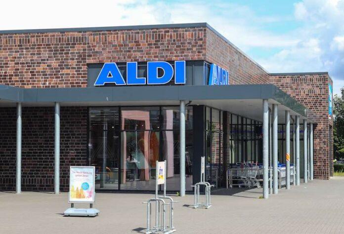 Eine Aldi-Filiale in Deutschland